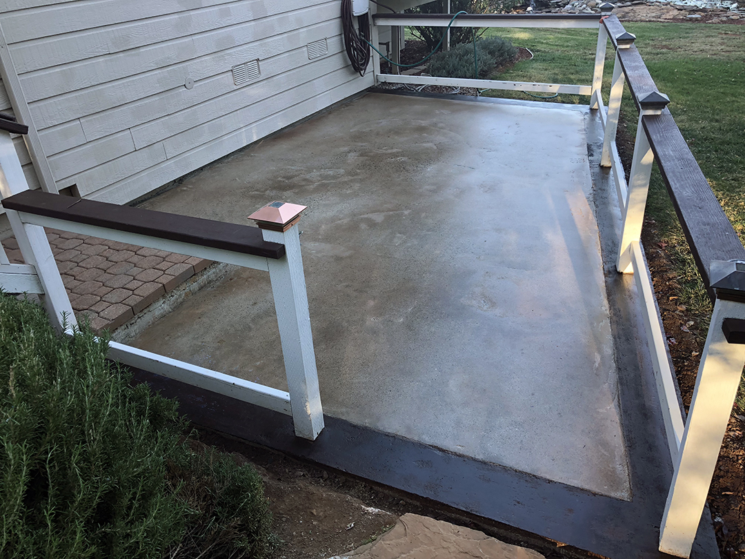 Patio Resurfacing - After
